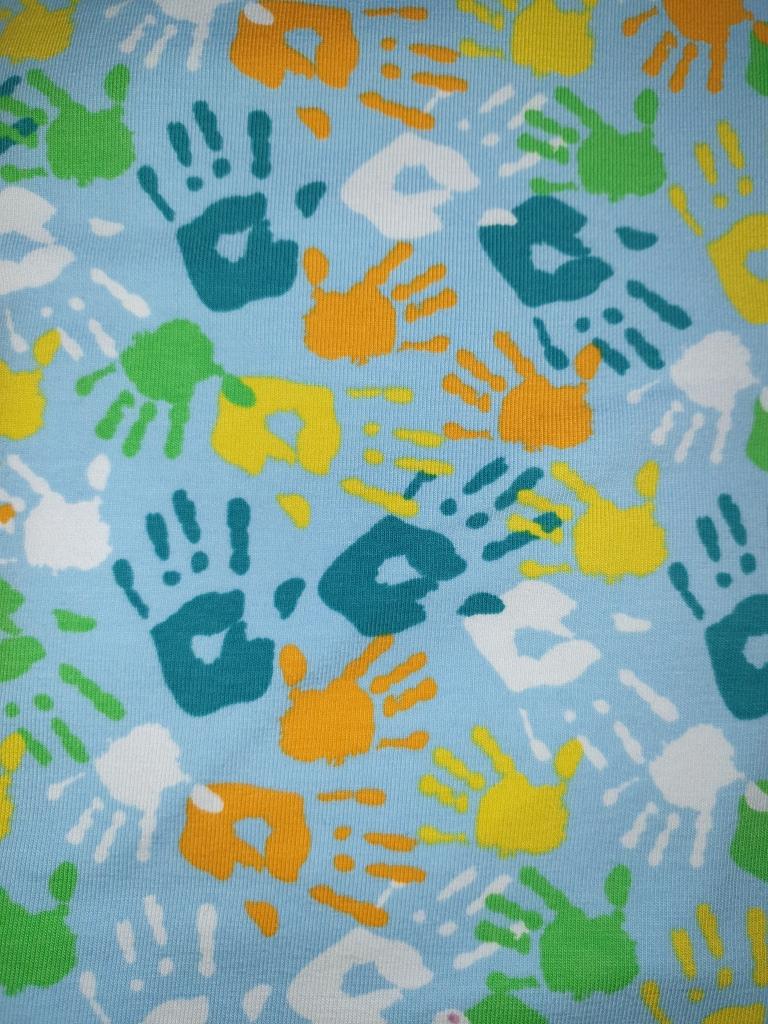 JER Hände blau