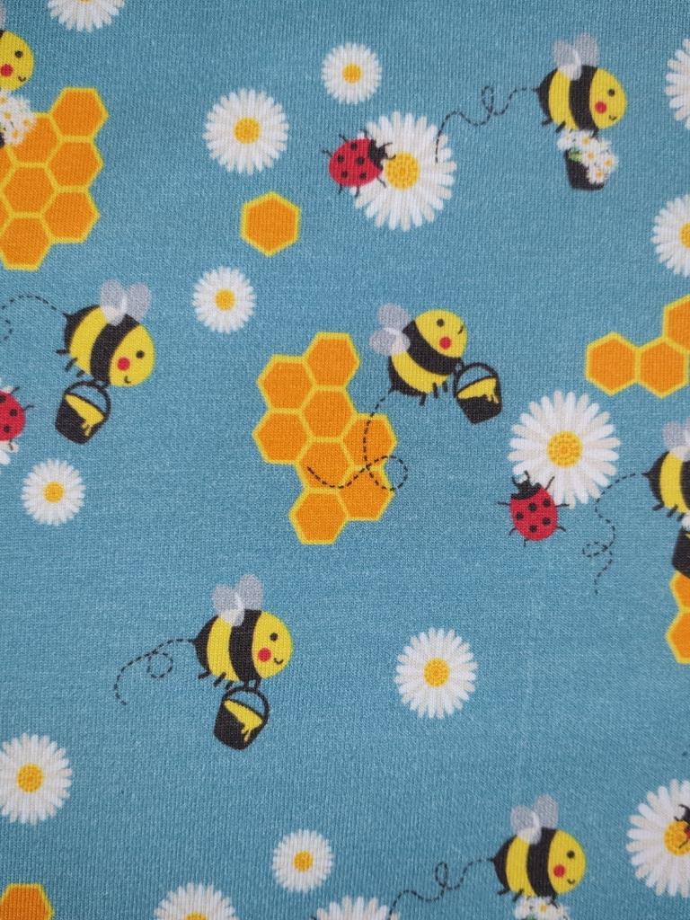 JER Bienen blau